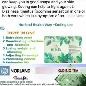 Organic Norland Kuding Tea For Sale In Nigeria