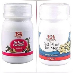 The Best 40 Plus For Women And Men Supplements In Nigeria