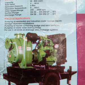 Self priming centrifugal mud pumps For Sale