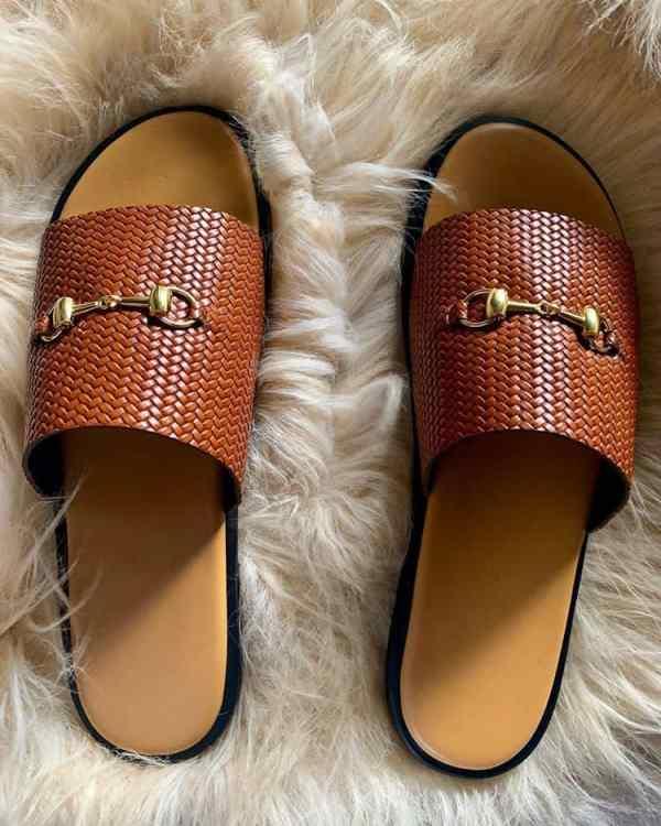 Best Men Simple Slide Sandals Online