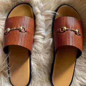 Best Men Simple Slide Sandals Online