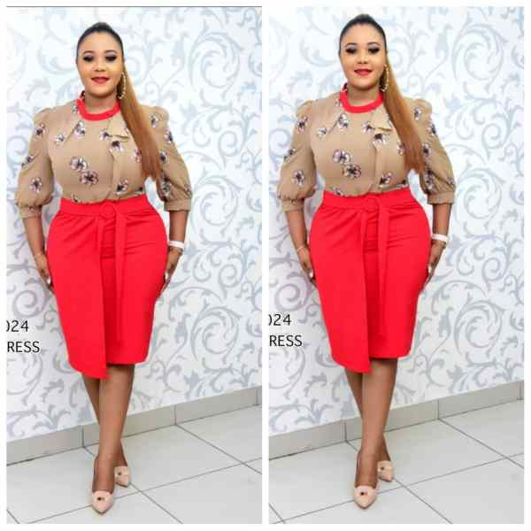 Buy Skirt And Blouse Online In Lagos