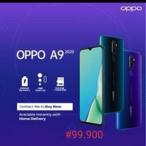 Buy Best Oppo A9 Smartphone In Abuja Nigeria