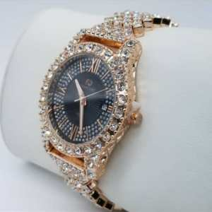 Buy Women's Iced Stone Wrist Watch In Nigeria
