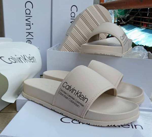 Calvin Klein Slide Slippers For Sale In Lagos