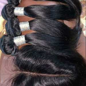 Straight Human Hair Wigs For Sale In Nigeria