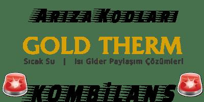 ArızaKodu GoldTherm