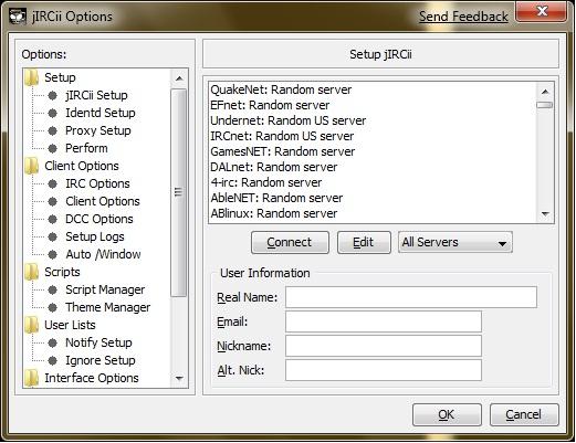 Java IRC Clientkombitz | kombitz