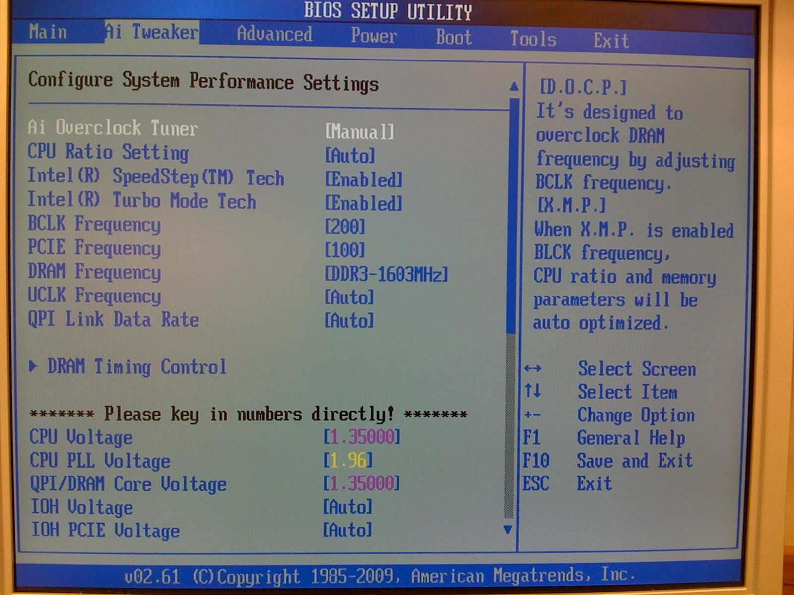 Overclocking Core I7 920 On Asus P6T