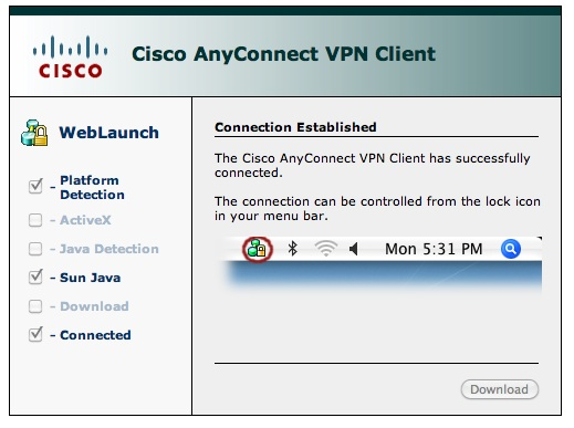 cisco any connect vpn client download