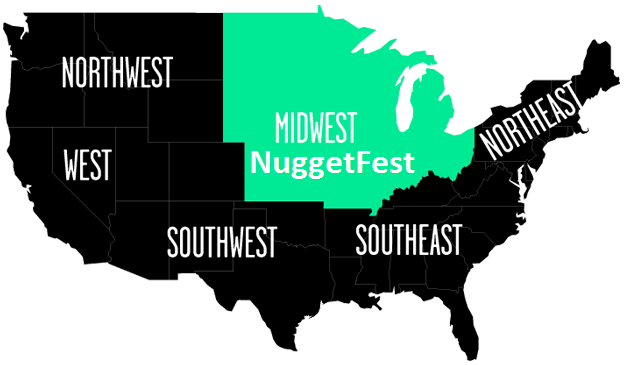Image result for midwest nuggetfest
