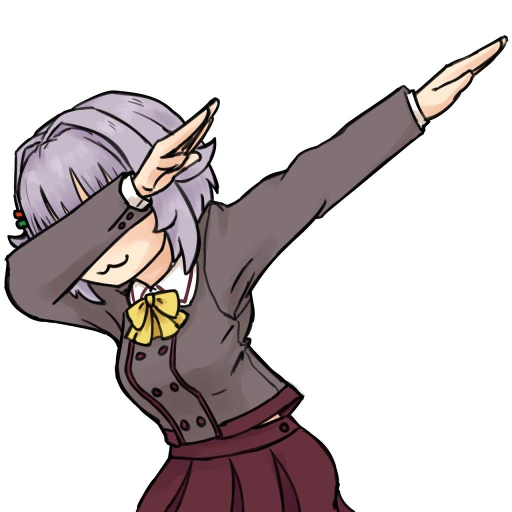 Sachiko dabbing on anti-gunners
