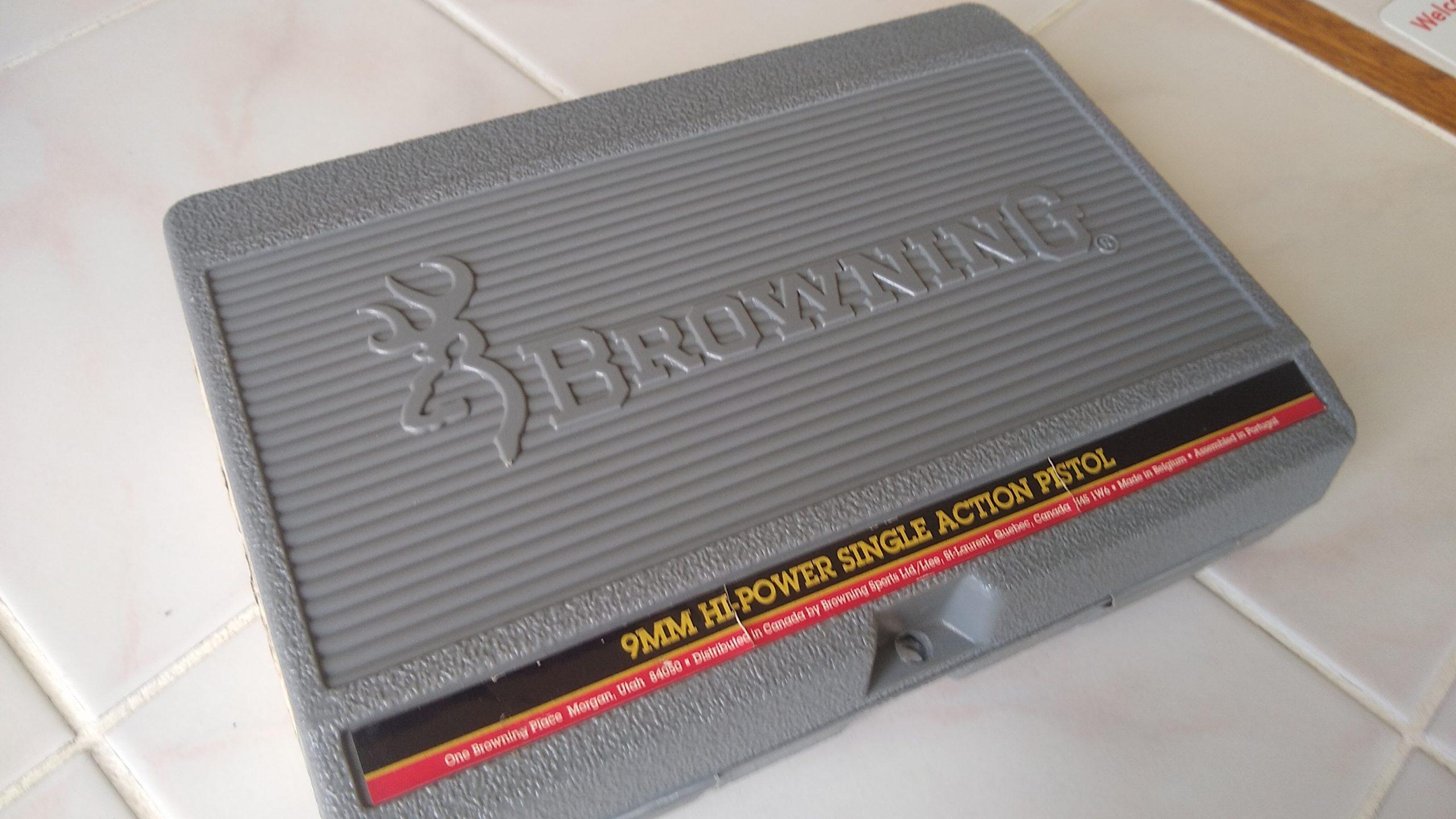 Browning pistol case