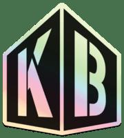 TKB Holographic logo sticker