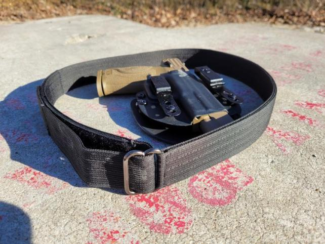EDC Foundation belt with handgun