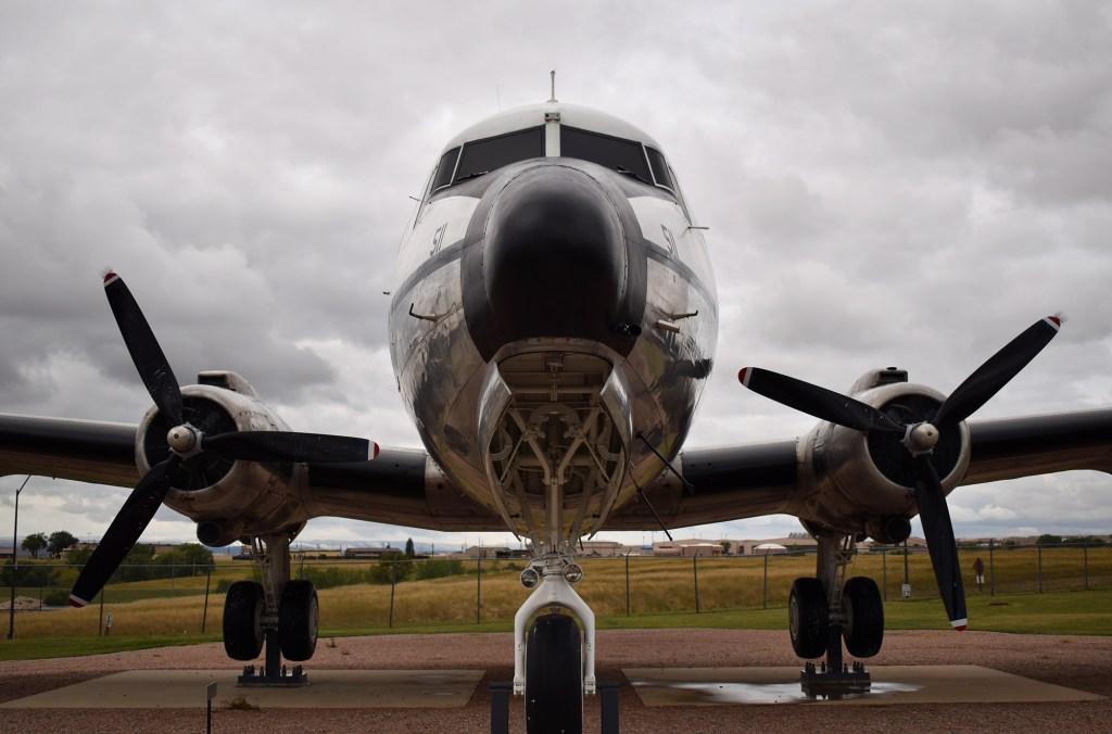 Douglas C-54 Skymaster - Nose View