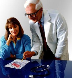 bezoek aan de dokter