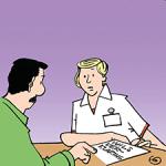 gesprek met zorgverlener
