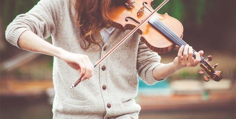 terminar lo que comenzamos al tocar un violin