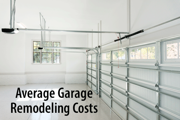 It Cost To Remodel Or Convert A Garage