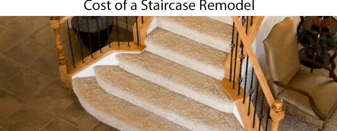 Average Staircase Remodel Cost 2020 How Much Does A New | Cost To Restain Stair Railing | Spindles | Refinishing Hardwood Stairs | Baluster | Sanding | Paint