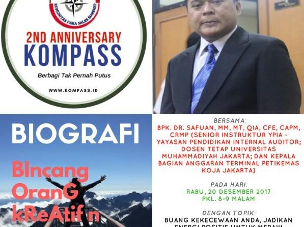 Program Biografi Kompass 20 Desember 2017