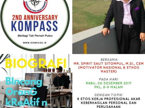 Program Biografi Kompass 6 Desember 2017