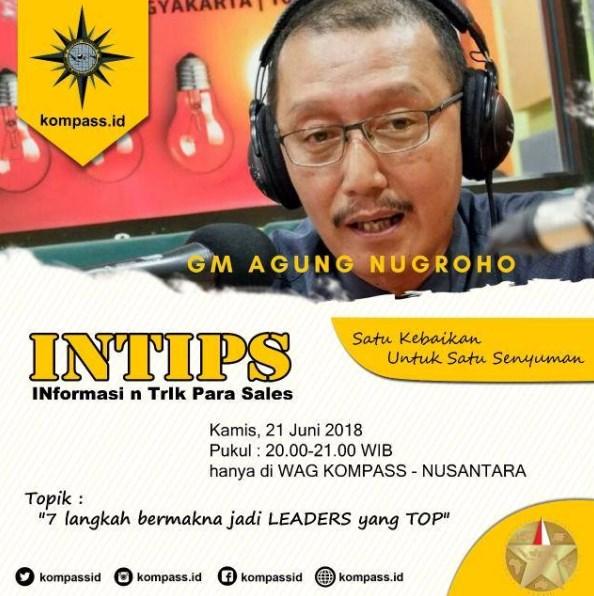 Program INTIPS KOMPASS Nusantara 21 Juni 2018