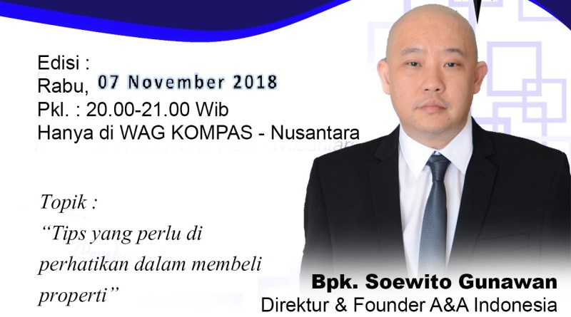 Program Biografi KOMPASS Nusantara 7 November 2018