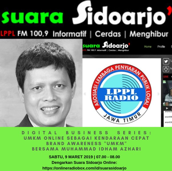 DIGITAL BUSINESS SERIES Muhammad Idham Azhari 9 Maret 2019