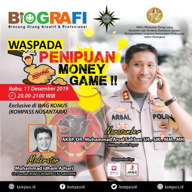 Program BIOGRAFI KOMPASS Nusantara 11 Desember 2019