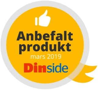 Anbefalt produkt Mars 2019