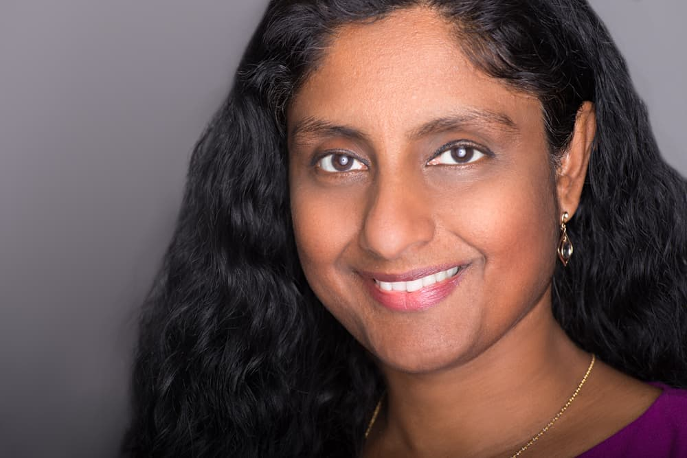 Photo of Krishna Subramanian relating to her article about strategic data vision