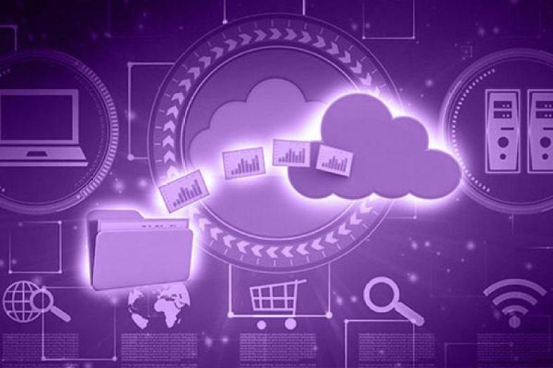 File storage transferring into cloud data archive.