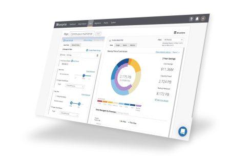 Komprise Intelligent Data Management Dashboard