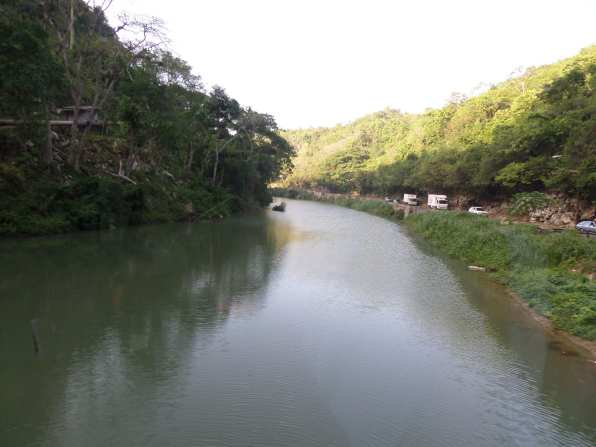 A green river I saw on the way to the 2014 Forest Trek in Jamaica.