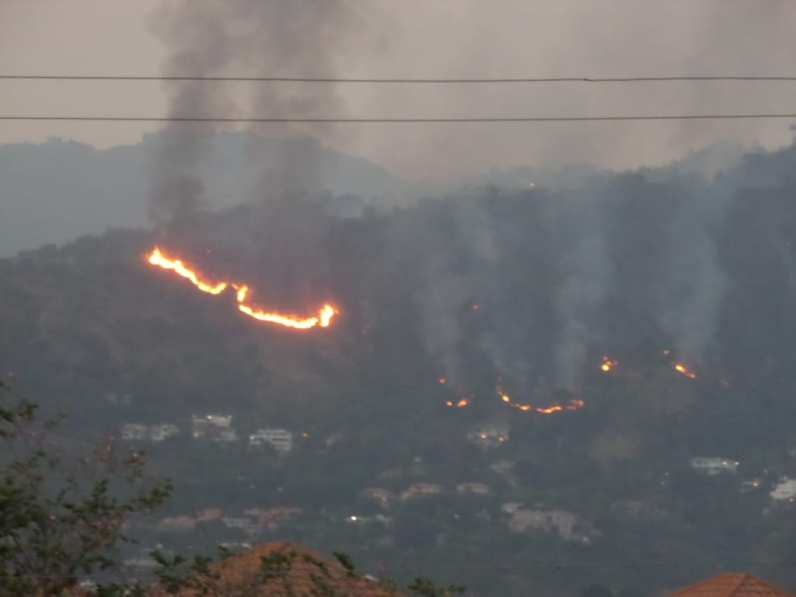 Fire on Jack's Hill