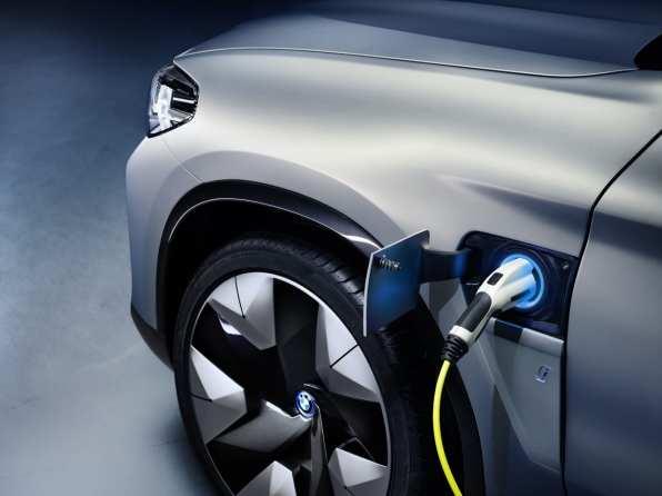 BMW plug-in car