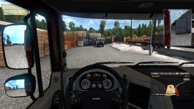 Euro Truck Simulator 2 gameplay