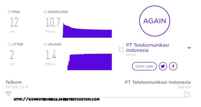 Cara Cek Kecepatan Internet IndiHome Speedy