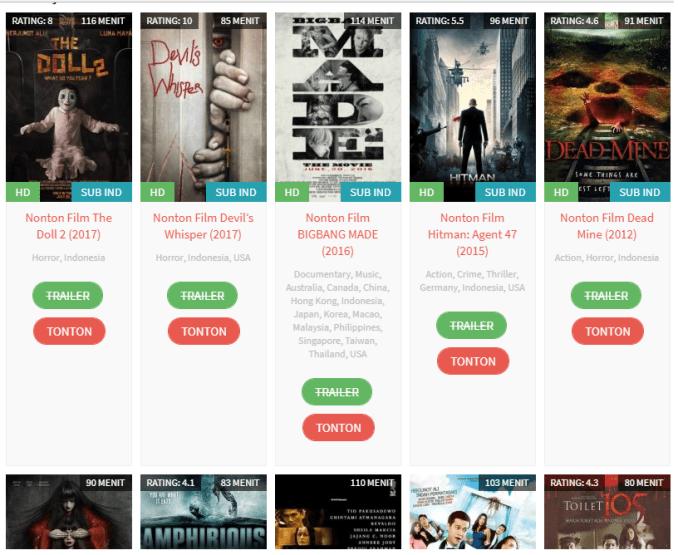 daftar film populer indonesia