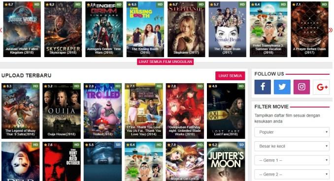 dunia21 tempat nonton film gratis
