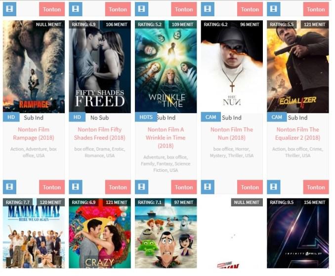 nonton secara online film indonesia dan barat