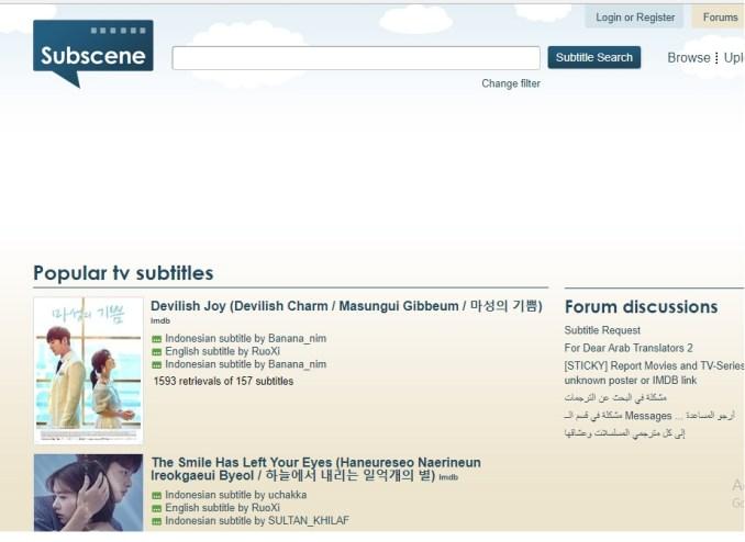 Situs Download Subtitle Film dan Drama Korea Terbaik Dan Terlengkap