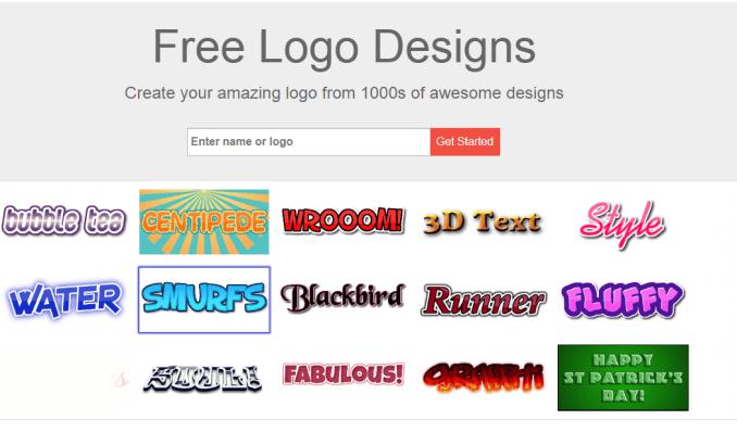 situ untuk membuat logo online gratis