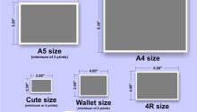 Ukuran Foto 3r Dalam Cm, Mm, Inch dan Pixel Sesuai dengan Standar
