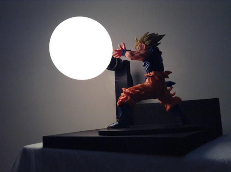 Need Ces Lampes Dragon Ball Z Lampoule Kamehameha