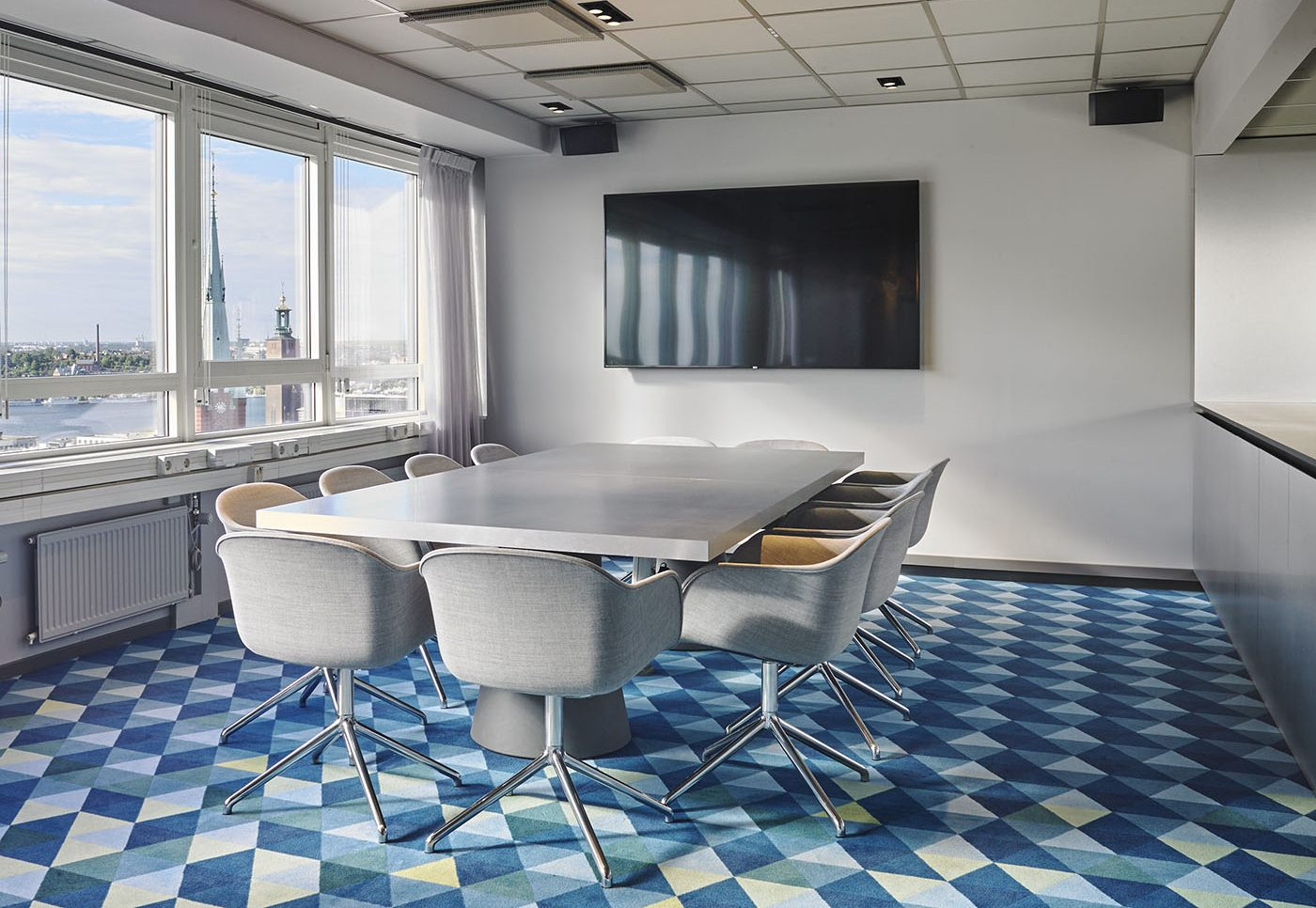 Penthouse environment, conference room- Stockholm