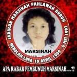 Marsinah, 23 Tahun Sudah Kematianmu