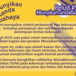 Bunyikan Tanda Bahaya Save Our Sisters